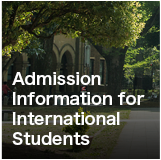 Admission Information for International Students